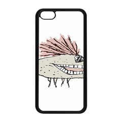 Monster Rat Hand Draw Illustration Apple Iphone 5c Seamless Case (black)