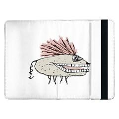 Monster Rat Hand Draw Illustration Samsung Galaxy Tab Pro 12 2  Flip Case