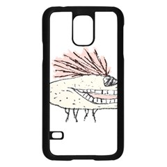 Monster Rat Hand Draw Illustration Samsung Galaxy S5 Case (black)