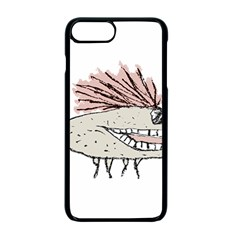 Monster Rat Hand Draw Illustration Apple Iphone 7 Plus Seamless Case (black)
