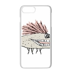 Monster Rat Hand Draw Illustration Apple Iphone 7 Plus Seamless Case (white)