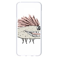 Monster Rat Hand Draw Illustration Samsung Galaxy S8 Plus White Seamless Case
