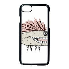 Monster Rat Hand Draw Illustration Apple Iphone 8 Seamless Case (black)
