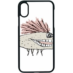 Monster Rat Hand Draw Illustration Apple Iphone X Seamless Case (black)
