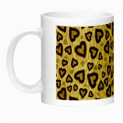 Leopard Heart 01 Night Luminous Mugs