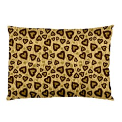 Leopard Heart 01 Pillow Case (two Sides)