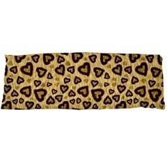 Leopard Heart 01 Body Pillow Case Dakimakura (two Sides)