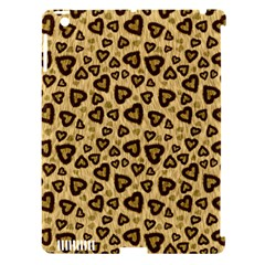 Leopard Heart 01 Apple Ipad 3/4 Hardshell Case (compatible With Smart Cover)