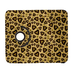 Leopard Heart 01 Galaxy S3 (flip/folio)