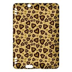 Leopard Heart 01 Kindle Fire Hdx Hardshell Case