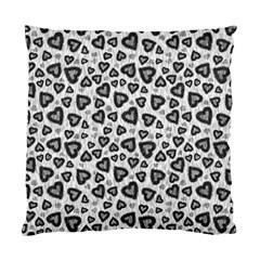 Leopard Heart 02 Standard Cushion Case (two Sides)