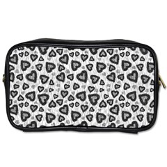 Leopard Heart 02 Toiletries Bags 2 Side
