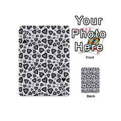Leopard Heart 02 Playing Cards 54 (mini)