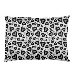 Leopard Heart 02 Pillow Case (two Sides)