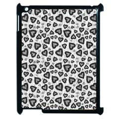Leopard Heart 02 Apple Ipad 2 Case (black)