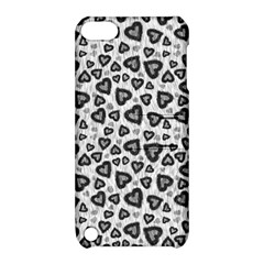 Leopard Heart 02 Apple Ipod Touch 5 Hardshell Case With Stand