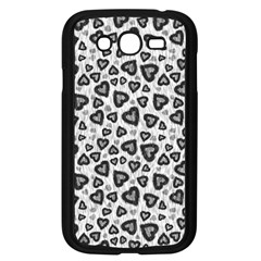 Leopard Heart 02 Samsung Galaxy Grand Duos I9082 Case (black)