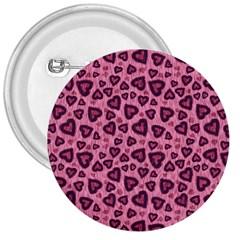 Leopard Heart 03 3  Buttons