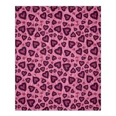 Leopard Heart 03 Shower Curtain 60  X 72  (medium)