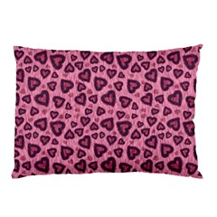 Leopard Heart 03 Pillow Case (two Sides)