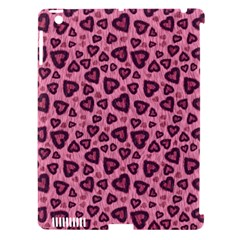 Leopard Heart 03 Apple Ipad 3/4 Hardshell Case (compatible With Smart Cover)