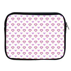 Pixel Hearts Apple Ipad 2/3/4 Zipper Cases