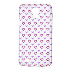 Pixel Hearts Galaxy S4 Active