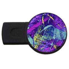 Ink Splash 01 Usb Flash Drive Round (4 Gb)