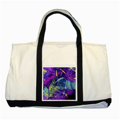 Ink Splash 01 Two Tone Tote Bag