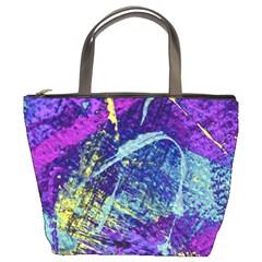 Ink Splash 01 Bucket Bags