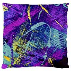 Ink Splash 01 Large Cushion Case (two Sides)