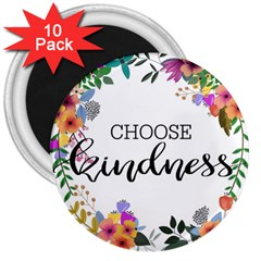 Choose Kidness 3  Magnets (10 Pack)