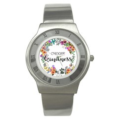 Choose Kidness Stainless Steel Watch