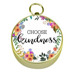 Choose Kidness Gold Compasses