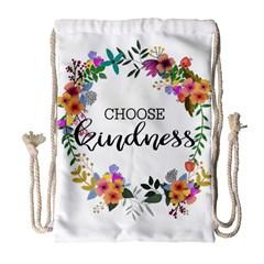 Choose Kidness Drawstring Bag (large)