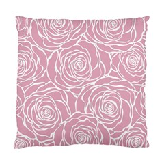 Pink Peonies Standard Cushion Case (one Side)
