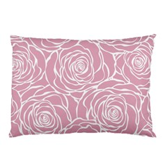 Pink Peonies Pillow Case (two Sides)