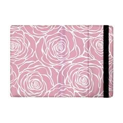 Pink Peonies Apple Ipad Mini Flip Case