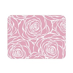 Pink Peonies Double Sided Flano Blanket (mini)