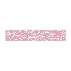 Pink Peonies Flano Scarf (mini)