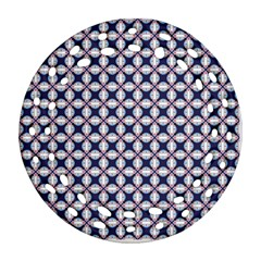 Kaleidoscope Tiles Ornament (round Filigree)