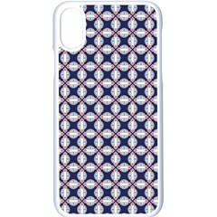 Kaleidoscope Tiles Apple Iphone X Seamless Case (white)