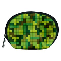 Tetris Camouflage Forest Accessory Pouches (medium)