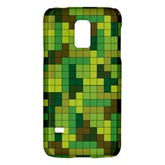 Tetris Camouflage Forest Galaxy S5 Mini