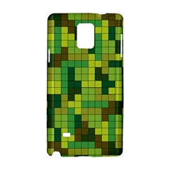 Tetris Camouflage Forest Samsung Galaxy Note 4 Hardshell Case