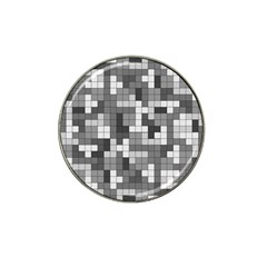 Tetris Camouflage Urban Hat Clip Ball Marker