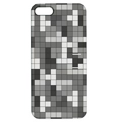 Tetris Camouflage Urban Apple Iphone 5 Hardshell Case With Stand
