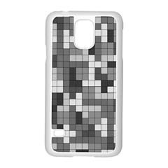 Tetris Camouflage Urban Samsung Galaxy S5 Case (white)