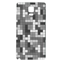 Tetris Camouflage Urban Galaxy Note 4 Back Case