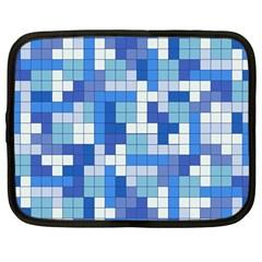 Tetris Camouflage Marine Netbook Case (large)